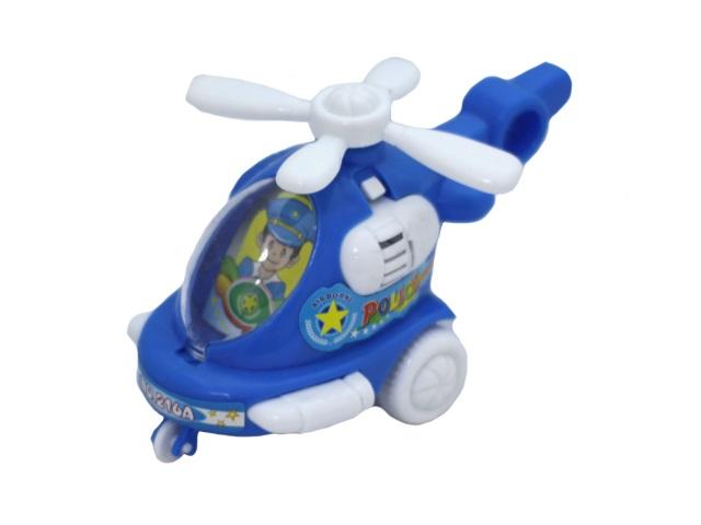 Заводная игрушка Вертолет 14см, в пакете