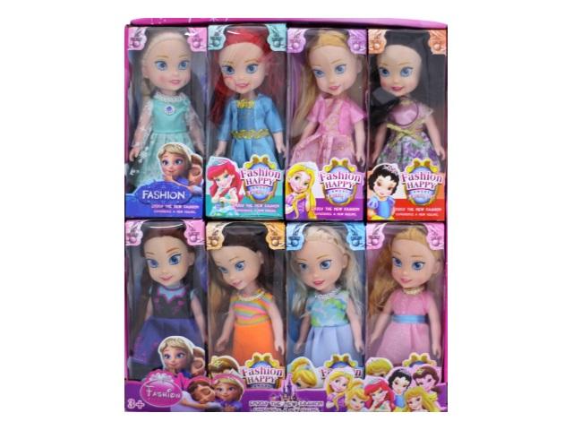 Кукла мал Принцесса Fashion Happy в кор 16см