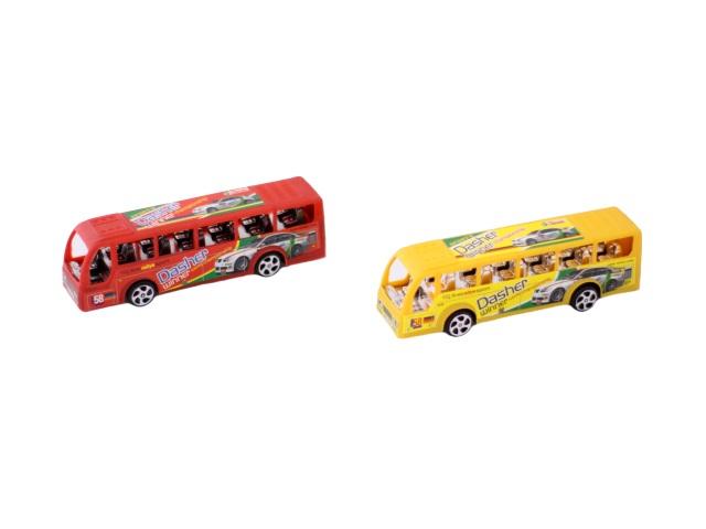 Автобус инерц пласт Toys в пак 12.5см
