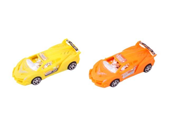 Машина инерц пласт Гонка Toys в пак 18см