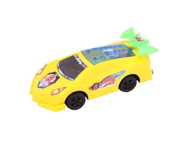 Заводная игрушка Машина пласт свет XN в пак 22см
