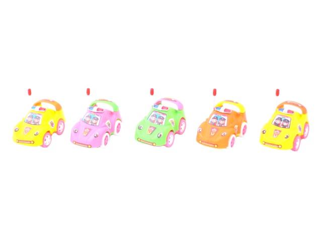 Заводная игрушка набор  5шт Машина пласт в пак 10см