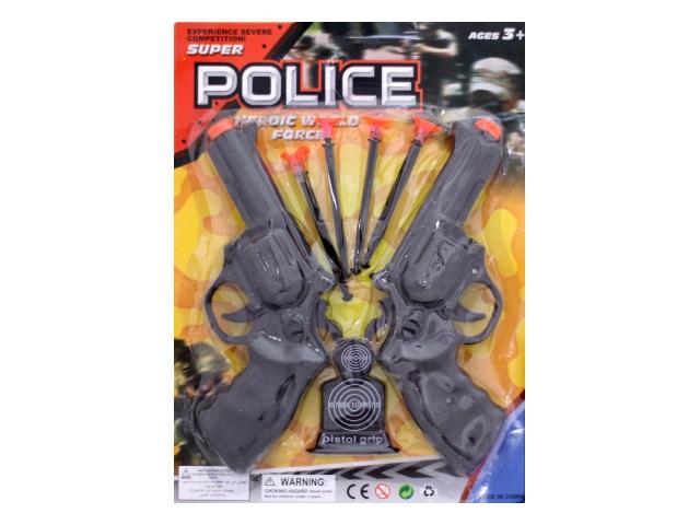 Полицейский набор  7предм пласт Super Police блистер/1