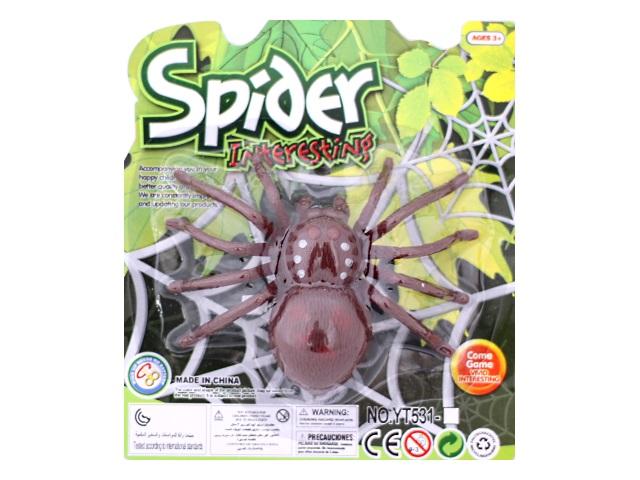 Заводная игрушка Паук Spider, блистер, арт. 531-2