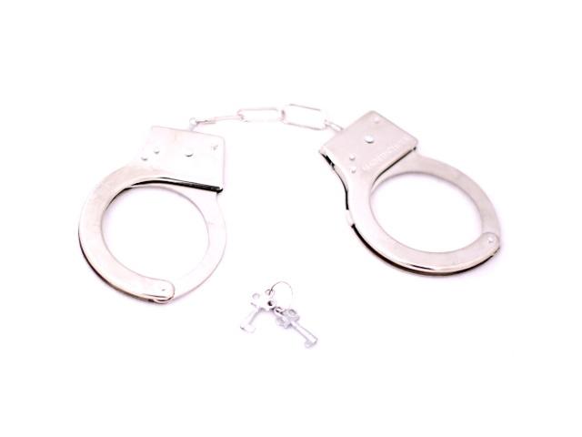 Наручники металлические Hand Cuffs в коробке, арт. 1407952