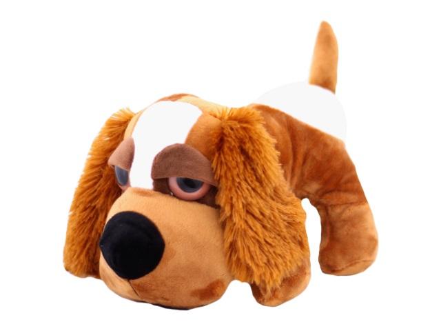 Мягкая игрушка Собака с ошейником, 30 см, арт. 48205