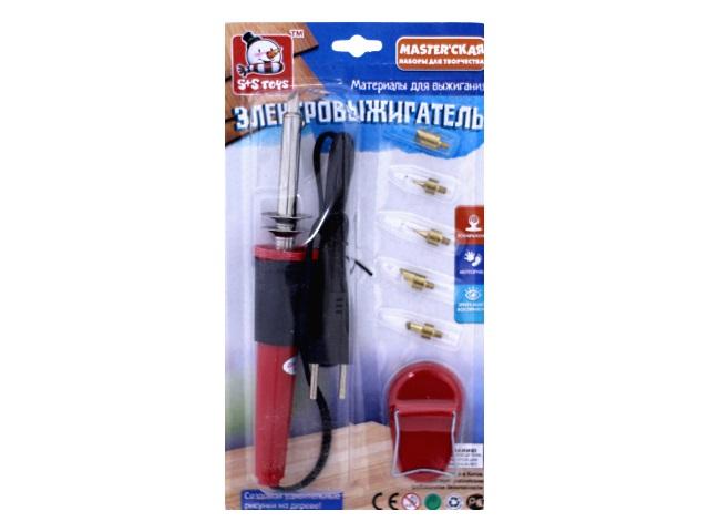 Прибор для выжигания Электровыжигатель, блистер, S+S Toys