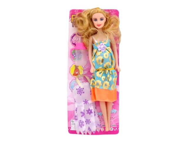 Кукла Барби Fashion Girl беременная с аксесс Tongde в пак 234-3/1
