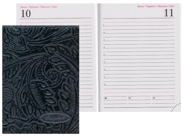 Ежедневник полудатированный А6 кожзам 198 листов Прадо, Josef Otten A6N/D-40