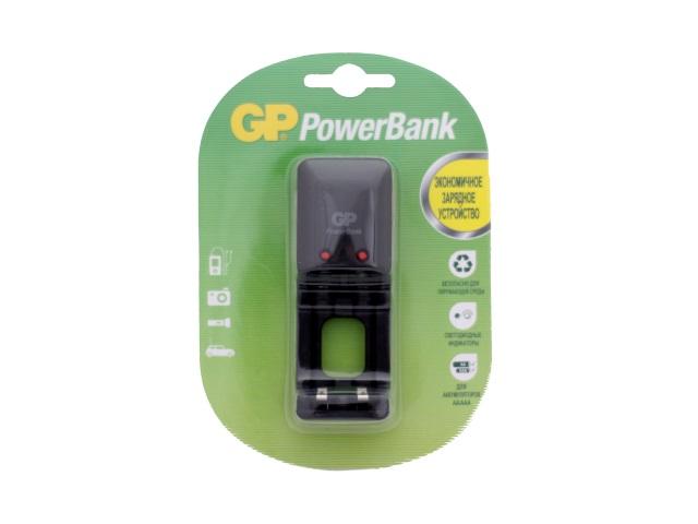 Зарядное устройство на две батарейки R03 / R6, GP PB330GS-CR1