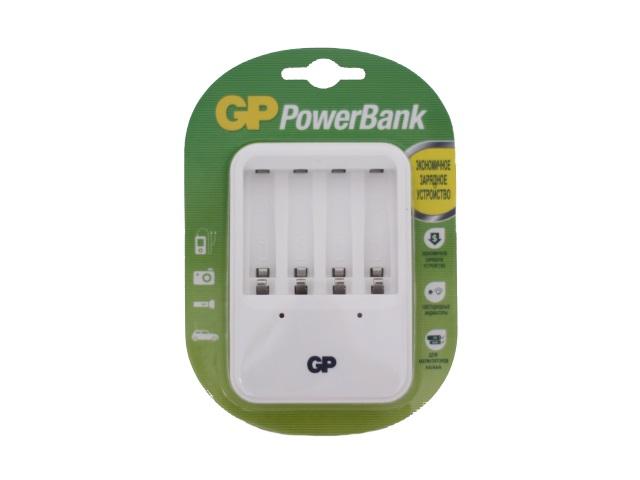 Зарядное устройство на четыре батарейки R03 / R6, GP PB420GS-CR1