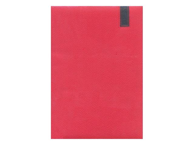 Еженедельник датированный 2018 г. А4 кожзам 64 листа красный, DeVente 2036701