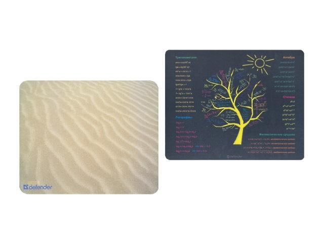 Коврик для компьютерной мышки в ассортименте, Sticker Defender 50405/50305