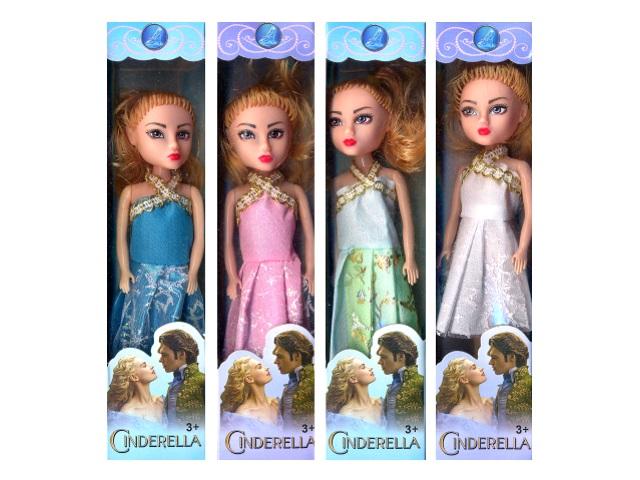 Кукла Cinderella маленькая 15 см в коробке, арт. 837