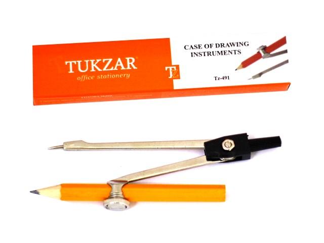 Циркуль Козья ножка в коробке, Tukzar TZ 491