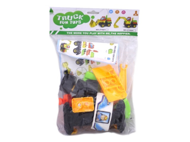 Детский конструктор 25 деталей Стройка Truck Fun Toys в пакете