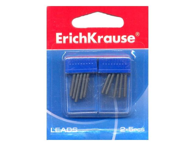 Грифели для циркуля 2х5 шт на блистере, Erich Krause EK-31539
