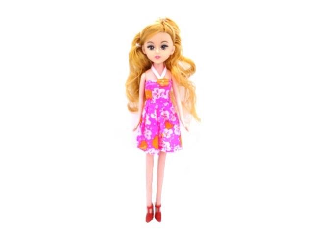 Кукла Девочка 22 см в пакете, Qinzhengyuan 9601