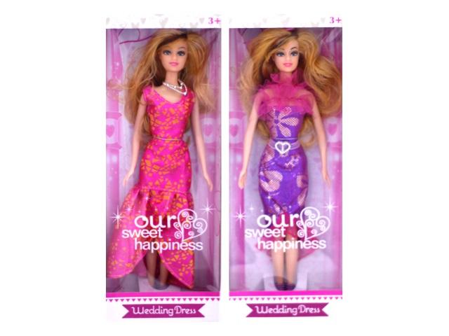 Кукла Барби Wedding Dress 28 см в коробке, Qinzhengyuan FB8811-A