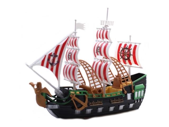 Корабль Гроза морей-1 пластик в коробке, Рыжий кот И-7963