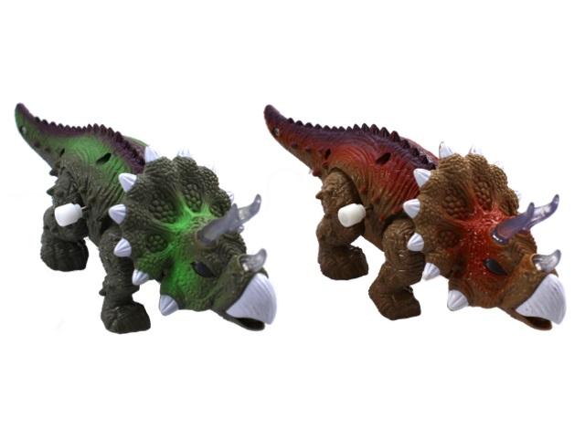 Заводная игрушка на батарейках Динозавр в коробке, арт. 1125