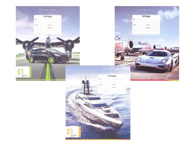 Тетрадь в клетку 12 листов Авто, Art Space 14290