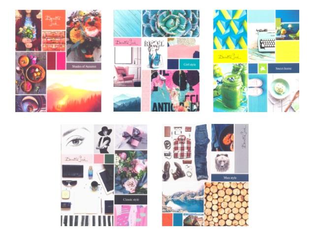 Тетрадь в клетку 48 листов Стиль Beautiful Look, Art Space 11949