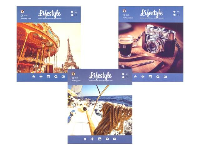 Тетрадь в клетку 48 листов Фотостиль, Art Space 5240