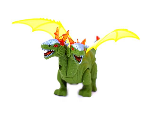 Развив игрушка Динозавр на бат свет звук проектор 22см Наша игрушка в кор 8771/1