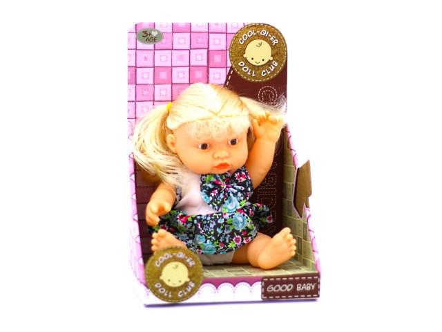 Кукла на батарейках Good Baby 19 см в коробке, Наша игрушка 1388-4А