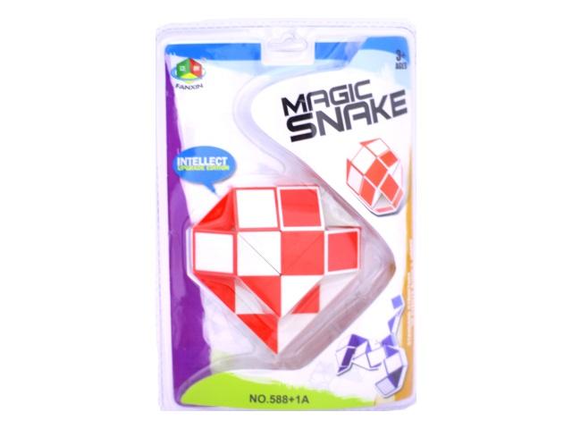 Головоломка Змейка 57см 36 звеньев Magic Snake Наша игрушка блистер 588+1А/1