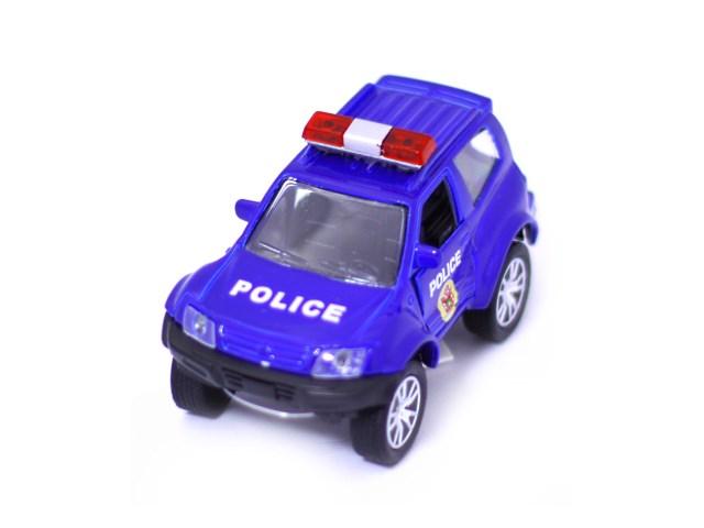 Машина инерц мет Джип Городские службы Наша игрушка 179PFE/1