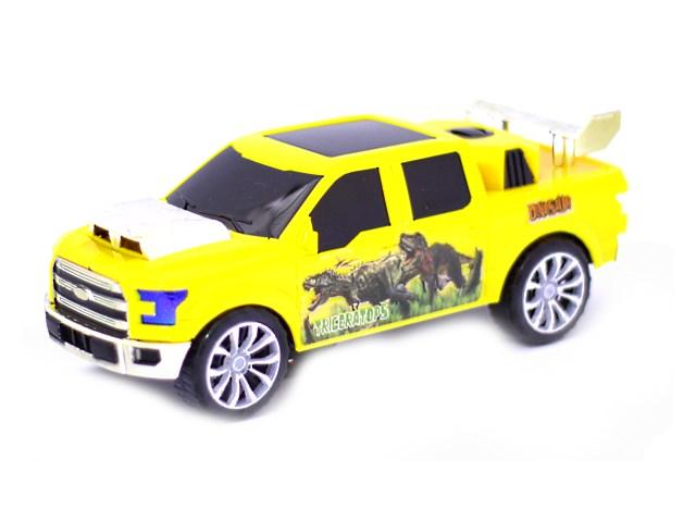 Машина на бат пласт звук свет Джип Dinosaur 23см Наша игрушка в кор Y13651155/1