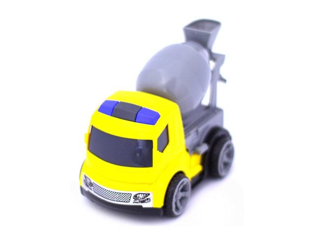 Машина инерц ппласт Миксер строит Наша игрушка в пак 933-06/1