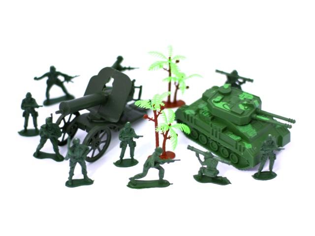 Военный набор 14предм Combat Set Наша игрушка в пак 981-15/1