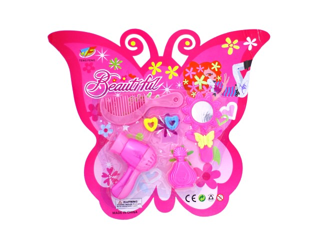 Набор парикмахера Бабочка, 6 предметов блистер, Наша игрушка S904