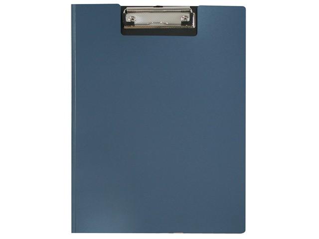 Планшет-папка А4, пластиковый, синий, Metallic, Workmate