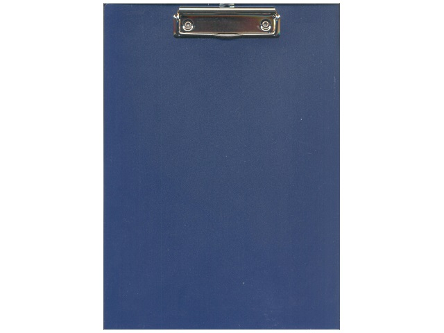 Планшет А4, пластиковый, синий, Metallic, Workmate