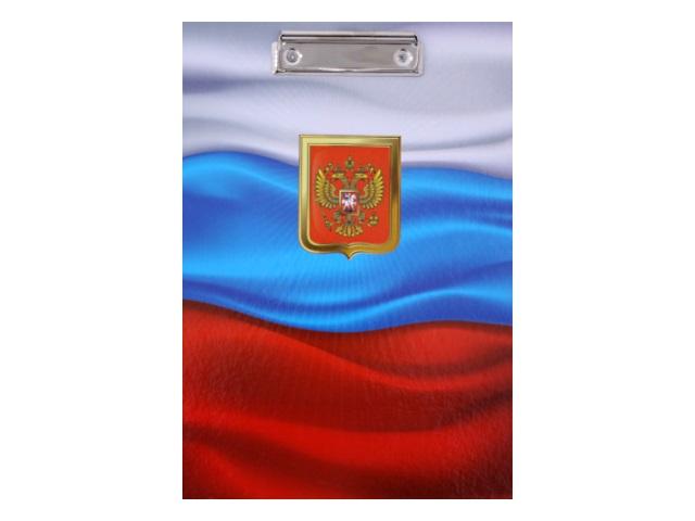 Планшет А4, ламинированный картон, Флаг, Имидж