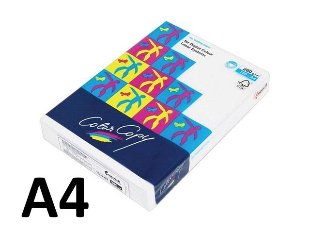 Бумага А4, 280 г/м, 150 листов, класс А, Color Copy