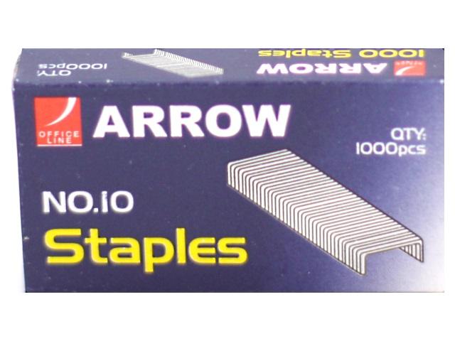 Скоба для степлера №10, 1000шт., Arrow