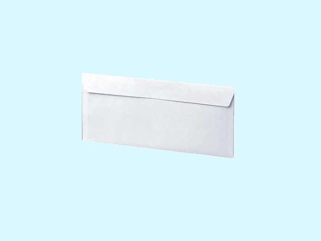 Конверт DL, с клеевой полосой, белый, Эмика 2000