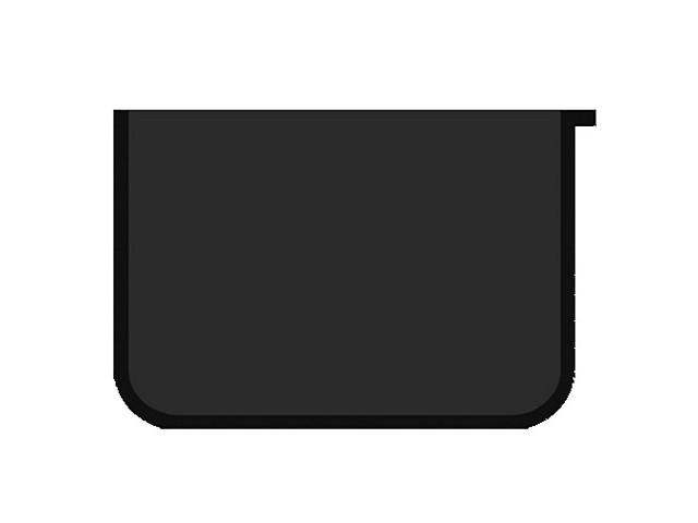 Папка для тетрадей на молнии, А5, пластиковая, черная, Пчелка