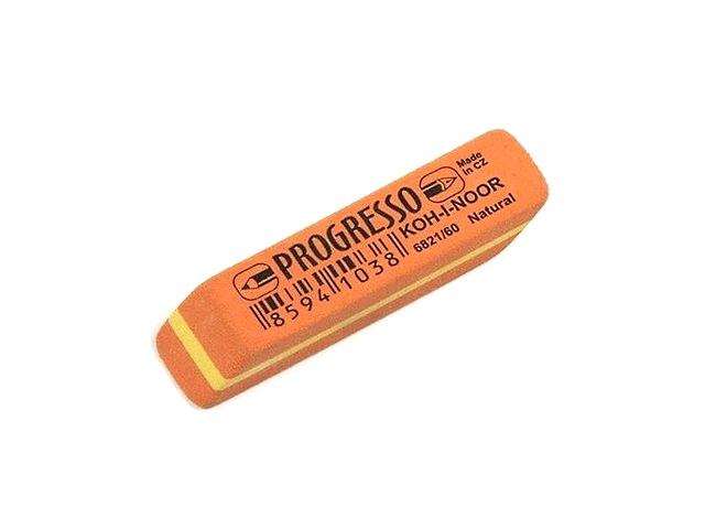 Ластик, прямоугольный, оранжевый, 57*13*7мм., Progresso, Koh-I-Noor