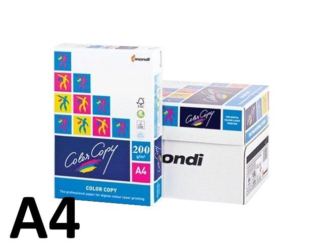 Бумага А4, 200 г/м, 250 листов, класс А, Color Copy