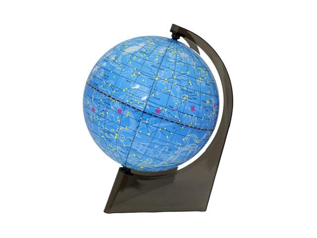Глобус Звездное небо R 210 на треугольной подставке, Глобусный мир 10295
