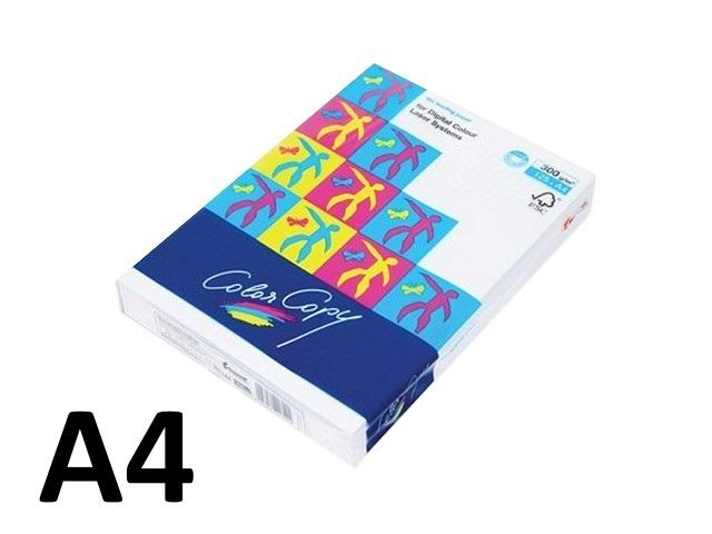 Бумага А4, 300 г/м, 125 листов, класс А, Color Copy