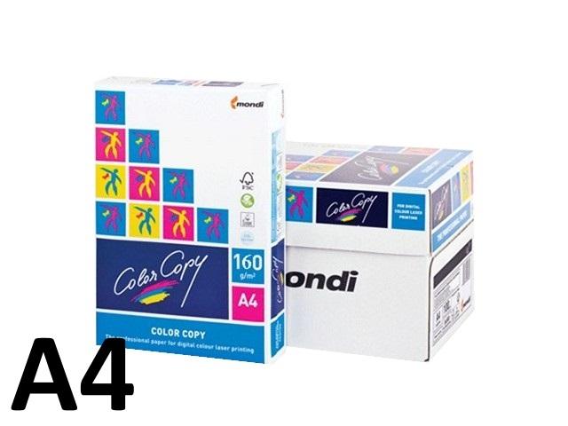 Бумага А4, 160 г/м, 250 листов, класс А, Color Copy
