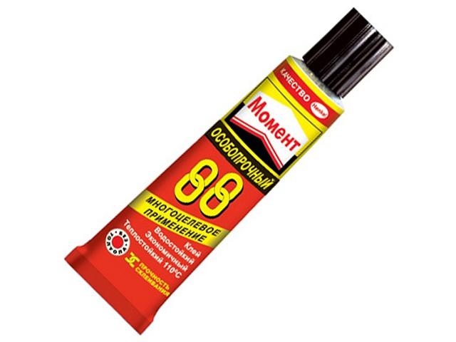 Клей супер 30 г, особопрочный, водостойкий, Момент-88, Henkel